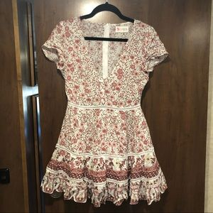 Vici Floral Mini dress